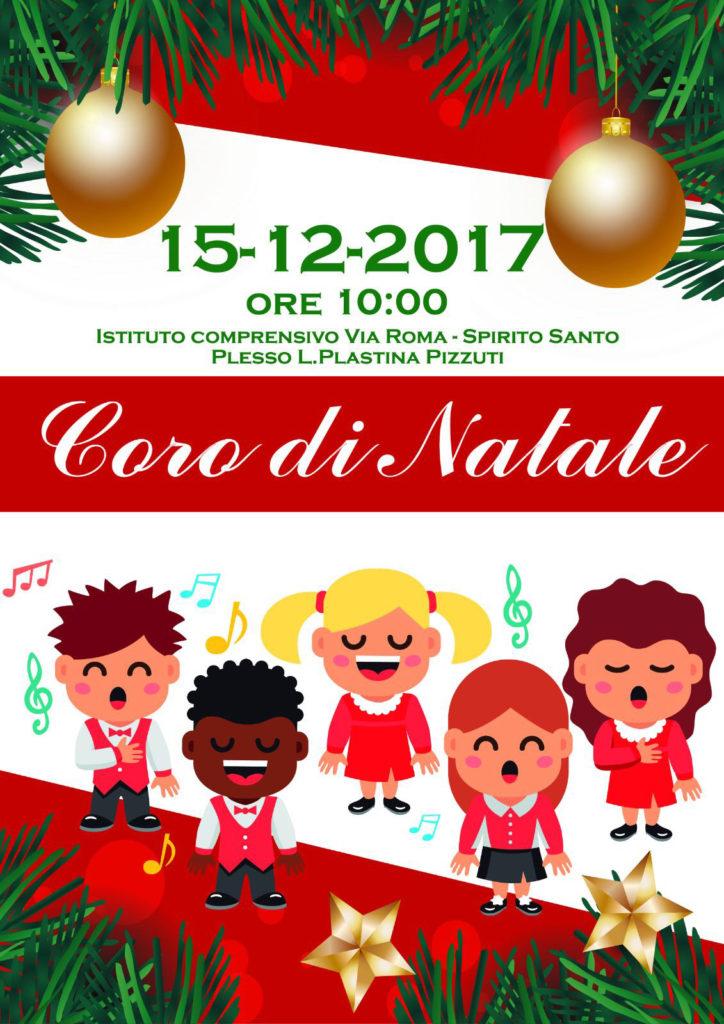 Coro Di Natale.Cosenza Il Coro Di Natale Della Scuola Primaria Di Via Roma Iacchite Blog